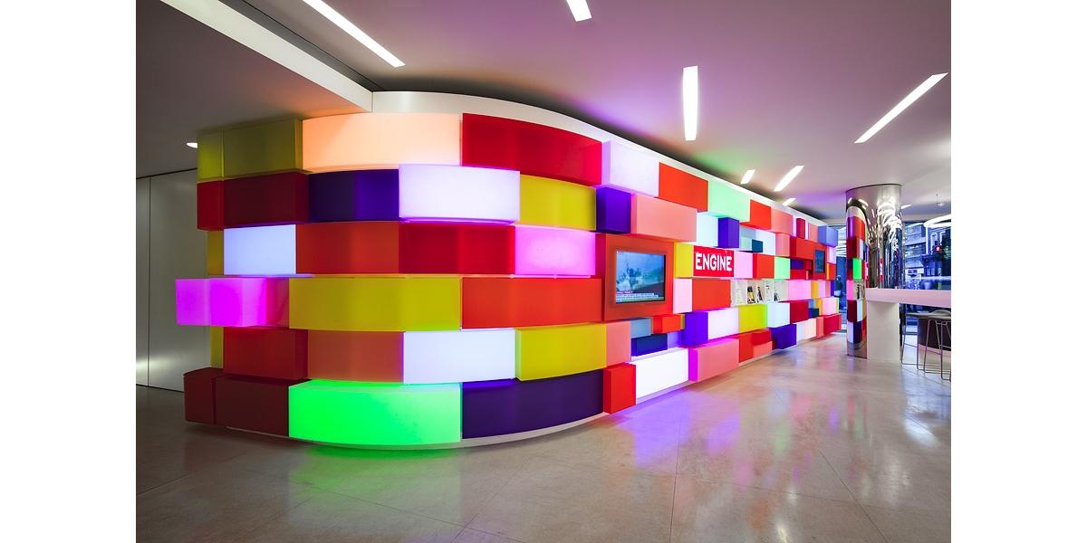 Acrylic vật liệu bề mặt trang trí nội thất gia đình hiện đại