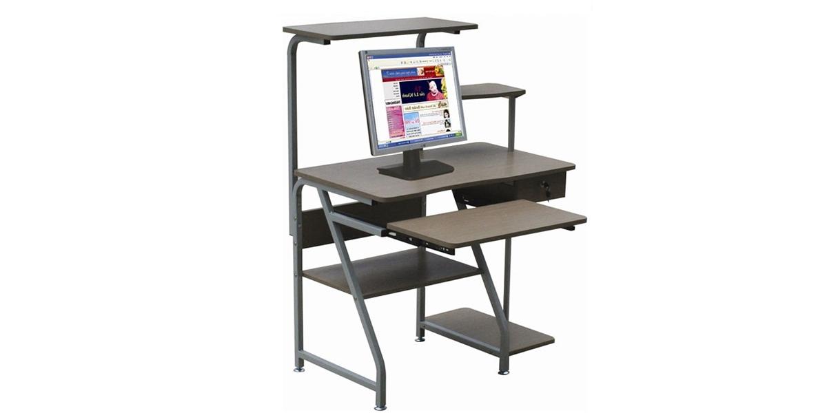 Bàn máy tính khung sắt – Nên dùng bàn máy tính khung sắt trong trường hợp nào? - Nội thất cao cấp Gia Phát tại TPHCM