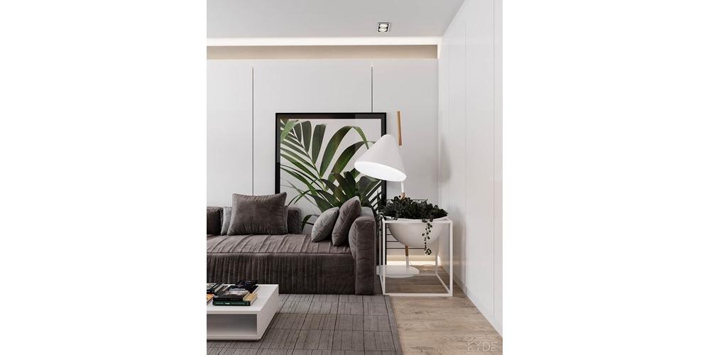 Căn hộ 65m2 thiết kế hợp lý mang lại không gian sống tiện nghi