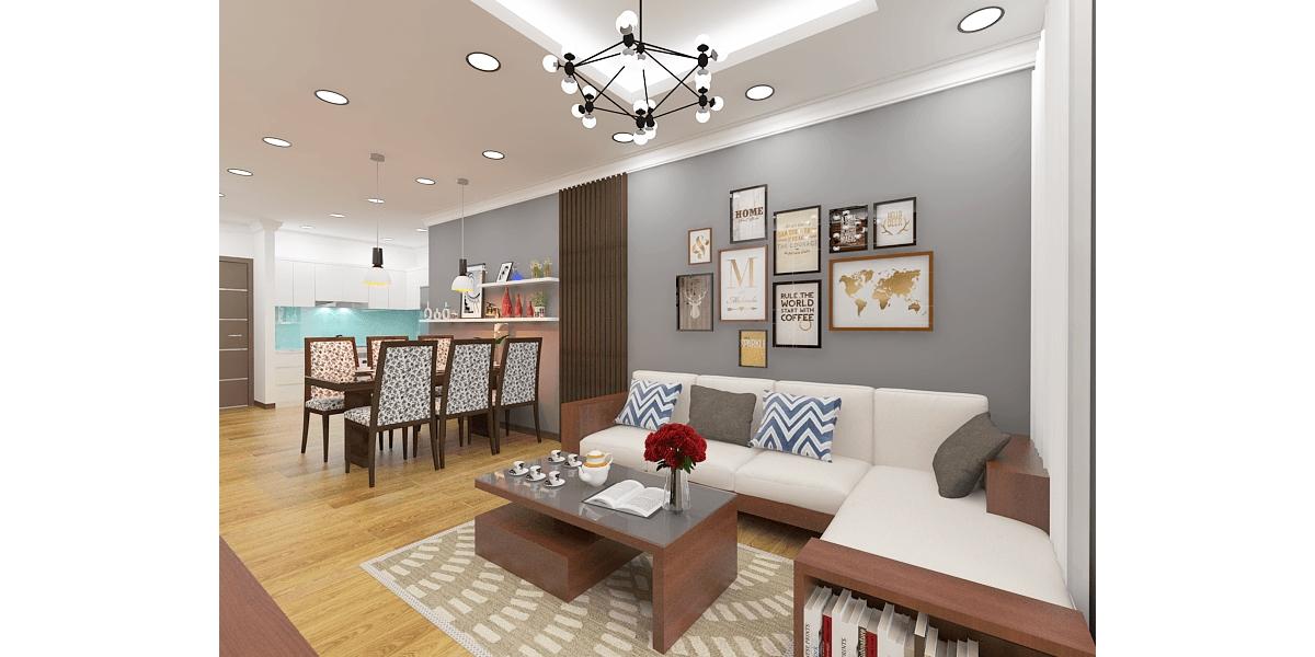 Chọn lựa nội thất gỗ cho phòng khách