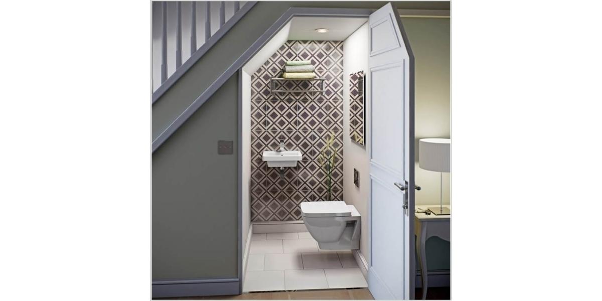 Đây là cách thiết kế phòng tắm 'chuyên trị' cho nhà nhỏ và chật