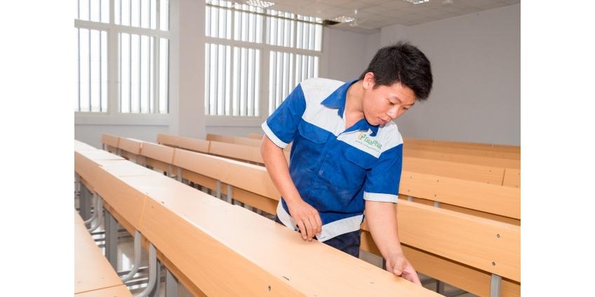 Nội thất trường học Hóc Môn - Dịch vụ nội thất trường học trọn gói tại TPHCM