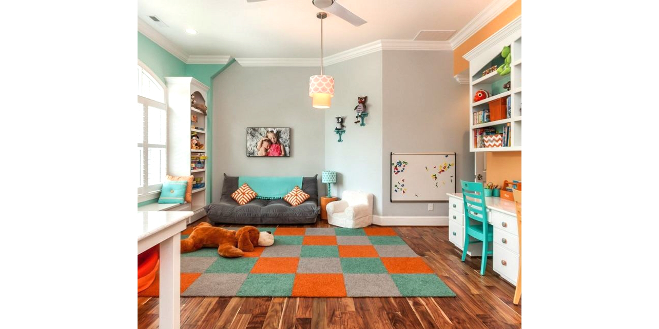 Thiết kế không gian cho trẻ