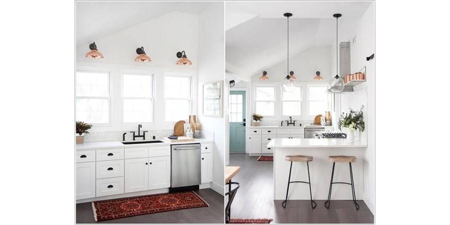 Ý tưởng trang trí phòng bếp siêu sang trọng
