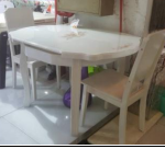 Bàn ghế ăn cao cấp GA143