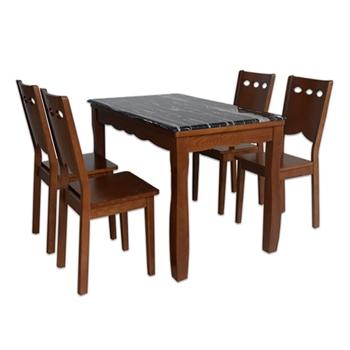 Bộ Bàn ghế Ăn 1 Bàn HGB74A+ 6 Ghế HGG74