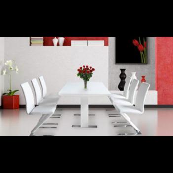 Bộ Bàn ghế ăn cao cấp 1 BA114 + 6 GA104