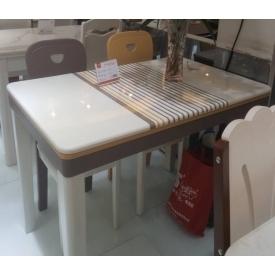 Bộ bàn ghế ăn cao cấp 1 BA142 + 4 GA142