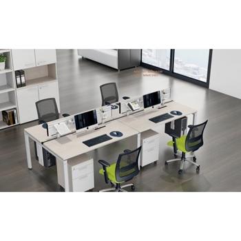 Cụm bàn làm việc - 4 chỗ - MN4C1407