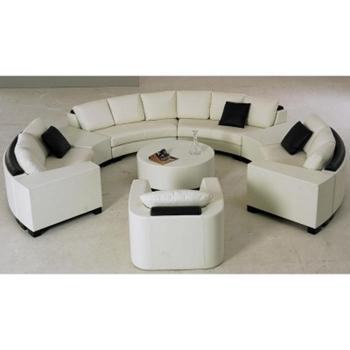 Sofa Da Băng hình chữ C DS-207