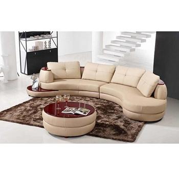 Sofa Da Băng hình chữ C DS-216