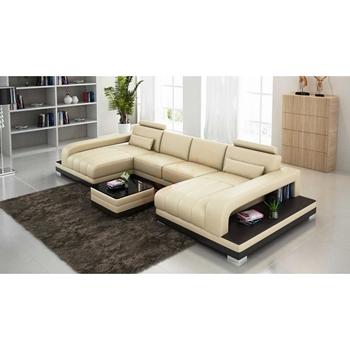 Sofa Da Góc hình chữ U DS-350