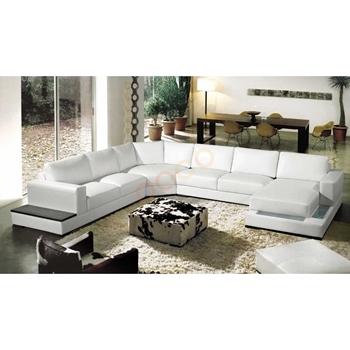 Sofa Da Góc hình chữ U DS-355