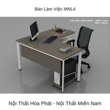 Bàn làm việc văn phòng cao cấp MNL4