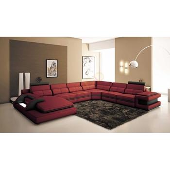 Sofa Da Góc hình chữ U DS-340