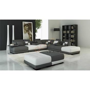 Sofa Da Góc hình chữ U DS-348