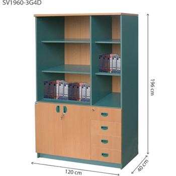 Tủ tài liệu 3 buồng SV1960-3G4D